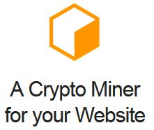 Coinhive – Monero JavaScript Mining Monero JavaScript Miner